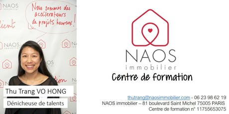 NAOS formation : Parrainez et gagnez 3% de commission à vie billets