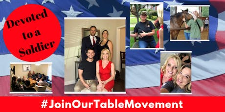 Devoted to a Soldier - #JoinOurTableMovement  tickets