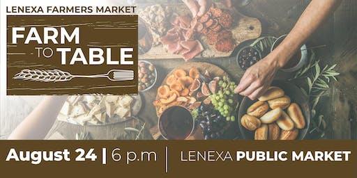 Farm to Table Dinner at Lenexa Public Market