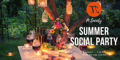 Pi Singles August Big Summer Social!