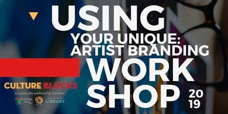 Using Your Unique: Artist BRANDING Workshop tickets