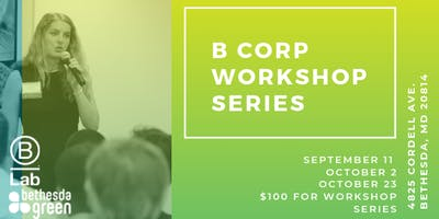 B Corp Workshop Series