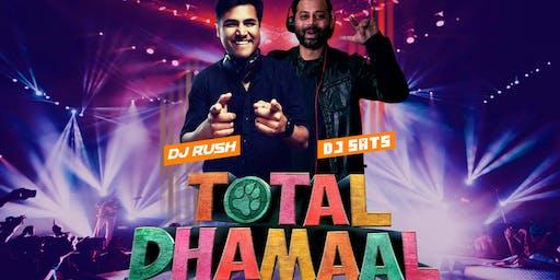 TOTAL DHAMAAL w/ DJ Rush NYC & DJ Sats Seattle