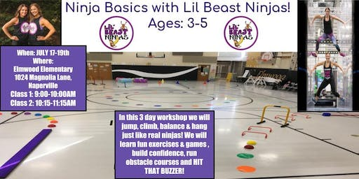 Ninja Basics with Lil Beast Ninjas
