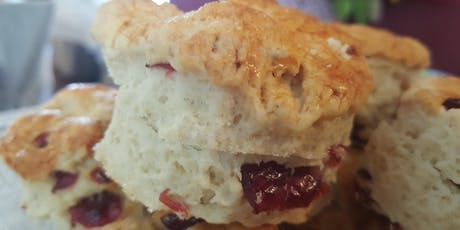 "Tina's Traditional Tearoom- Columbus presents the ""Great British Baking Experience"" - Scones tickets"