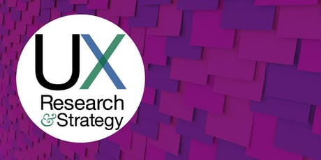 """UX Research and Strategy """"The Art of Facilitation"""" July meeting tickets"""