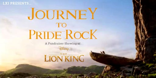 LXi Presents: Journey to Pride Rock