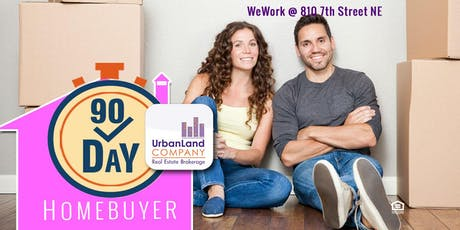 90 Day Homebuyer | Fast Track to DC - MD Homeownership - 7/18/2019 tickets