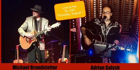 Michael Brondstetter and Adrian Galysh - Live at The El Cid tickets