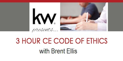 3 HR CE 'Code of Ethics' with Brent Ellis - Cost: $10