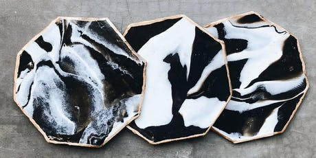 Makers Workshop: Marbled Clay Coasters tickets