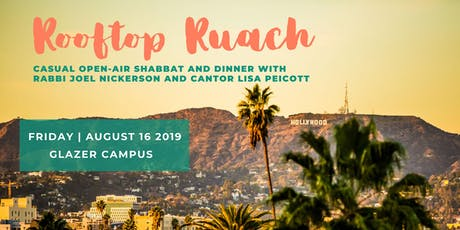 Rooftop Ruach - August 16, 2019 tickets