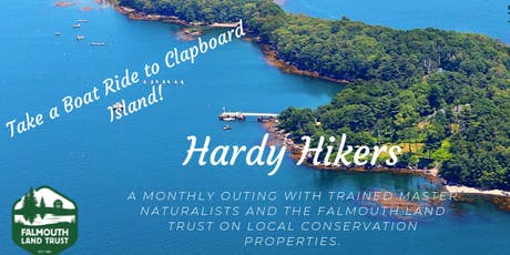 Hardy Hikers: Boat Ride to Clapboard Island tickets
