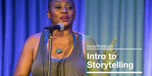 Intro to Storytelling - Workshop