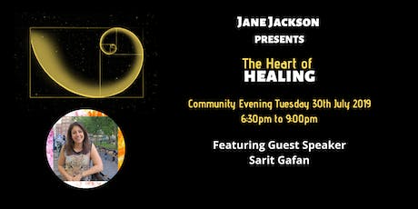 The Heart of Healing Community Evening tickets