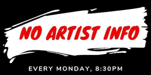 No Artist Info Open Mic