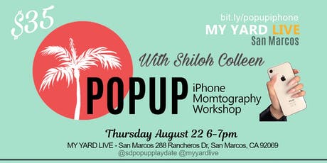 """IPhone MOMtography """"PopUp Workshop"""" - MNO tickets"""