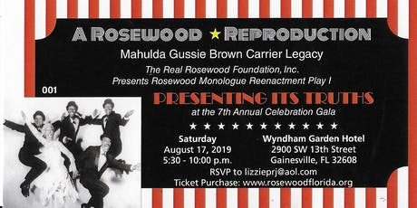 A ROSEWOOD REPRODUCTION * Mahulda Gussie Brown Carrier Legacy tickets