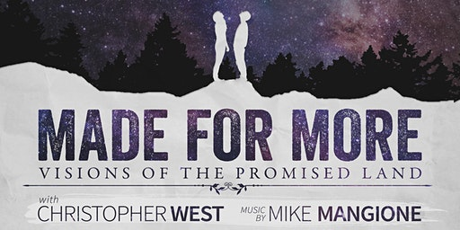 Made For More - Norman, OK - RESCHEDULED FOR JAN 22nd (St Thomas More)