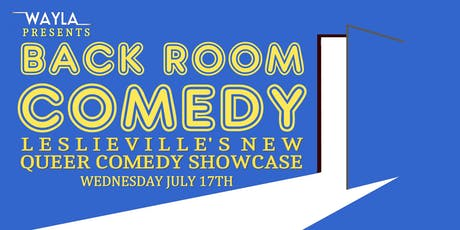 Back Room Comedy - Headliner VONG SHOW tickets