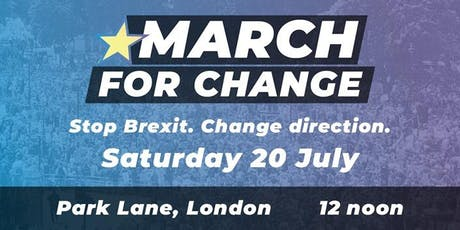 March for Change Coach from The Wirral tickets