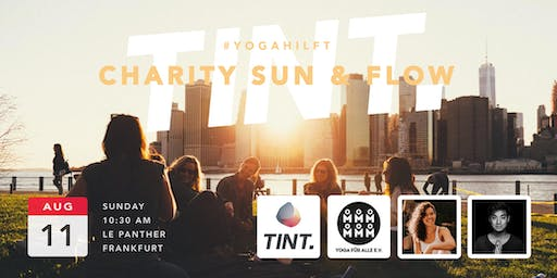 CHARITY SUN & FLOW - OPEN AIR YOGA