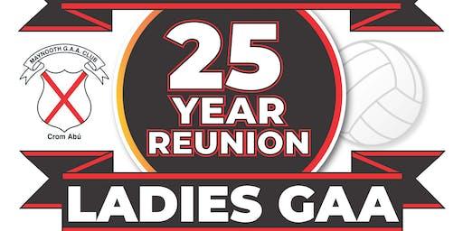 25yr Reunion Maynooth Ladies Football Team