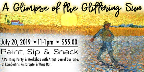 A Glimpse of the Glittering Sun, A Painting Party and Workshop. tickets