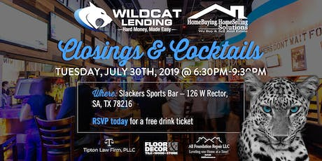"""Closings & Cocktails"" Real Estate Mixer tickets"