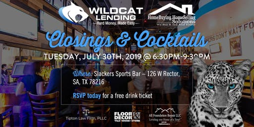 """Closings & Cocktails"" Real Estate Mixer"