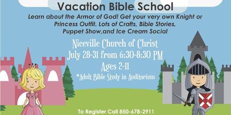 Niceville Church of Christ VBS 2019 tickets