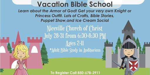 Niceville Church of Christ VBS 2019