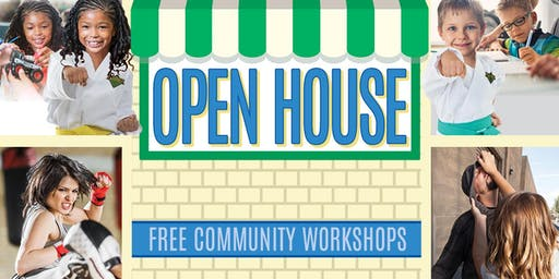 OPEN HOUSE: Free Community Workshops