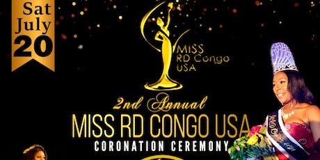 Miss R.D.Congo USA 2019 tickets