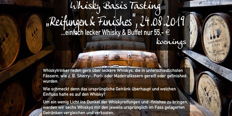 Whiskytasting - Fassreifungen und Finishes NEUER TERMIN Tickets