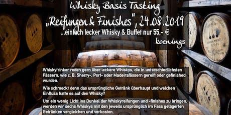 Whiskytasting - Fassreifungen und Finishes NEUER TERMIN Tickets