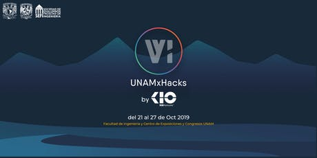 UNAMxHacks Conferencias + CONISOFT 2019 boletos
