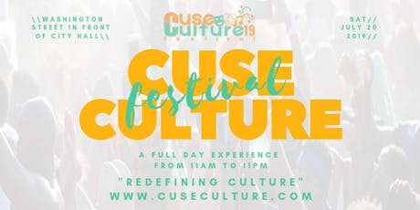 Cuse Culture Festival 2019 tickets