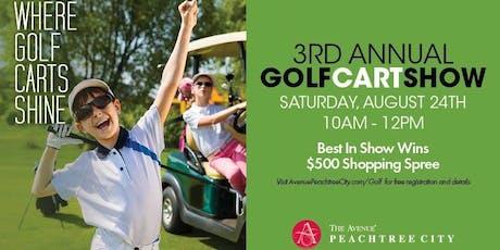 3rd Annual Golf Cart Show tickets