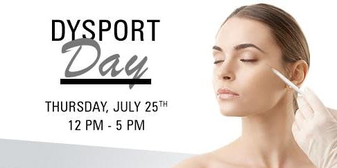 Dysport Day At The Skin Corner
