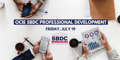 OCIE SBDC Professional Development (SBDC INTERNAL EVENT) tickets