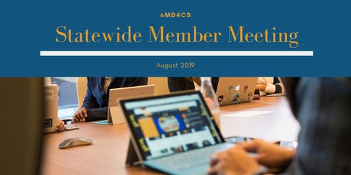 MD4CS Member Meeting