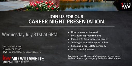 Career Opportunity Night