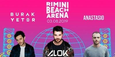 Burak Yeter Alok Anastasio Rimini Beach Arena 3 Agosto 2019
