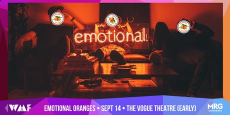 EMOTIONAL ORANGES tickets