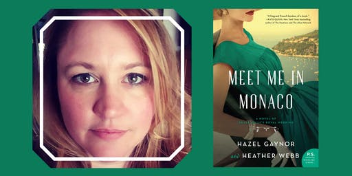 Delicious Discussions with Heather Webb (Meet Me In Monaco)