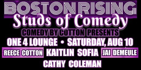 Boston Rising: Studs of Comedy tickets