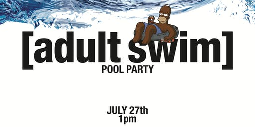 Adult Swim Pool Party