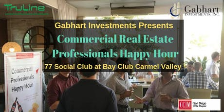 Commercial Real Estate Professionals Happy Hour at Bay Club Carmel Valley tickets