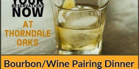 Bourbon/Wine Pairing Dinner tickets